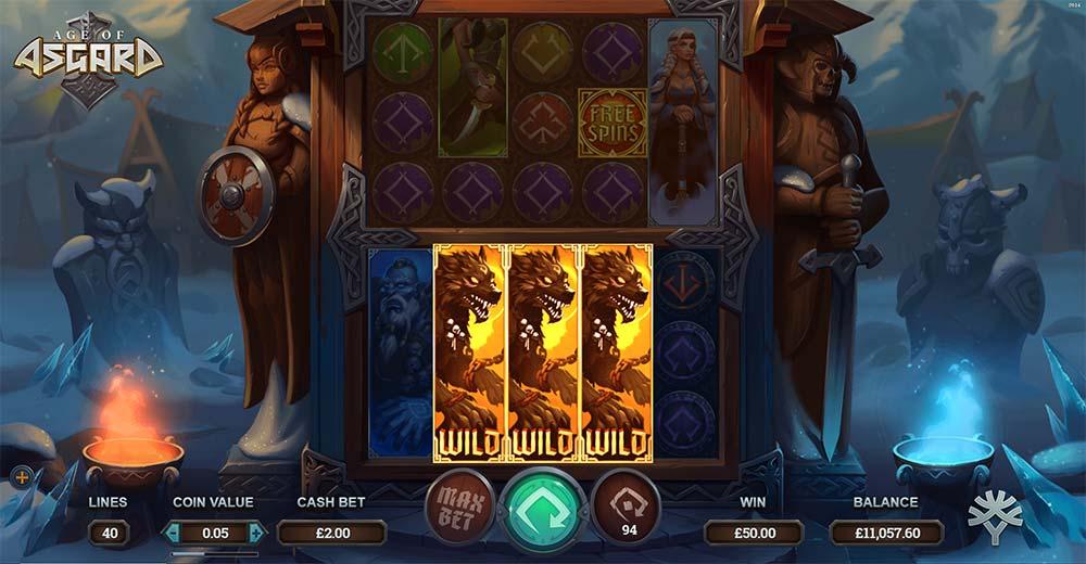 Age of Asgard Slot - Wild Reels