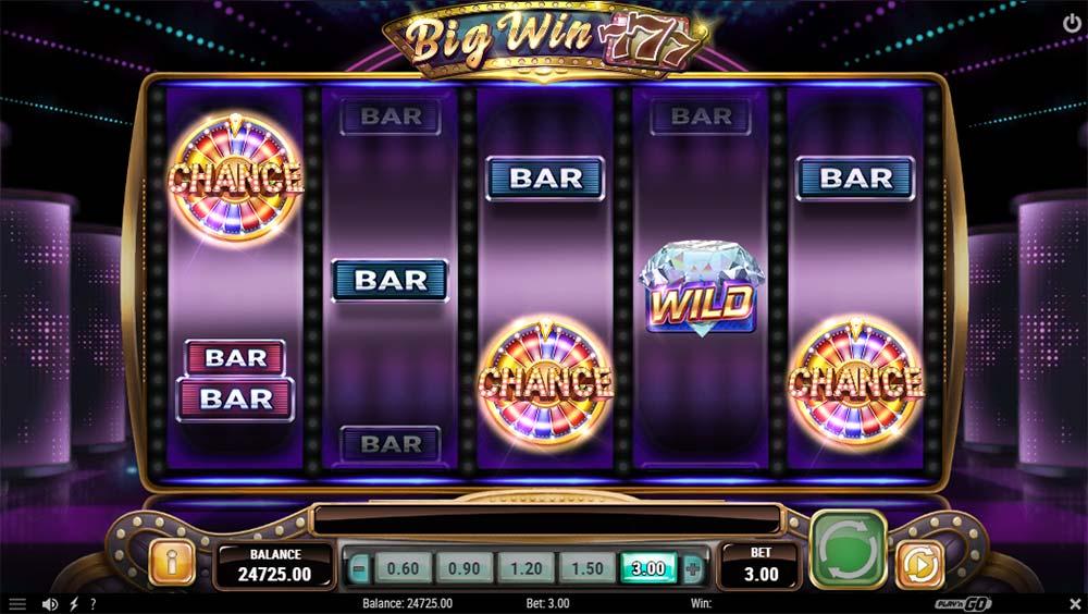 Big Win 777 Slot - Bonus Trigger