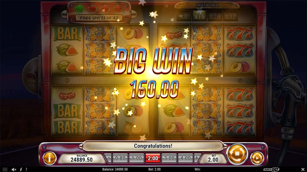 Cash Pump Slot - Big Win