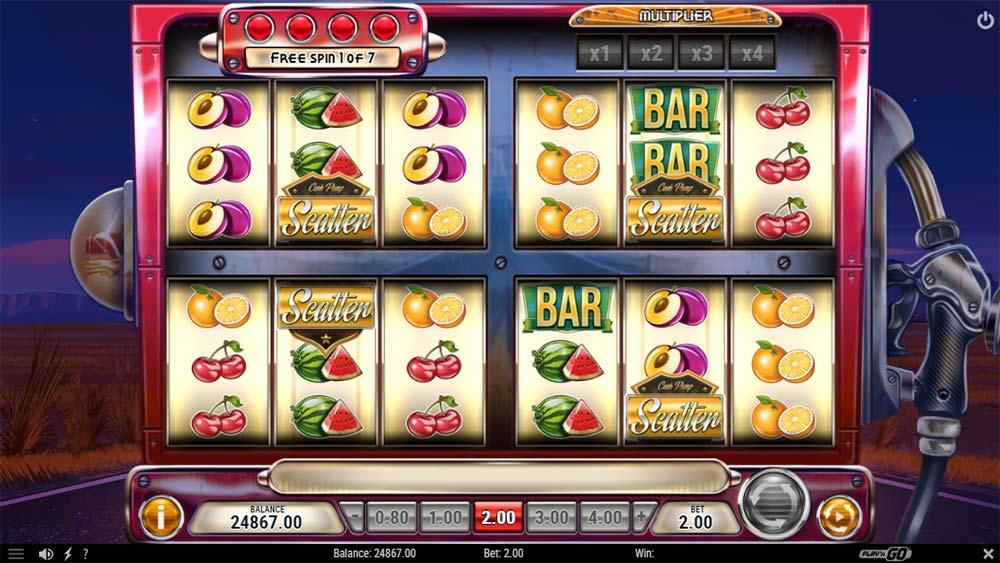 Cash Pump Slot - Bonus Trigger