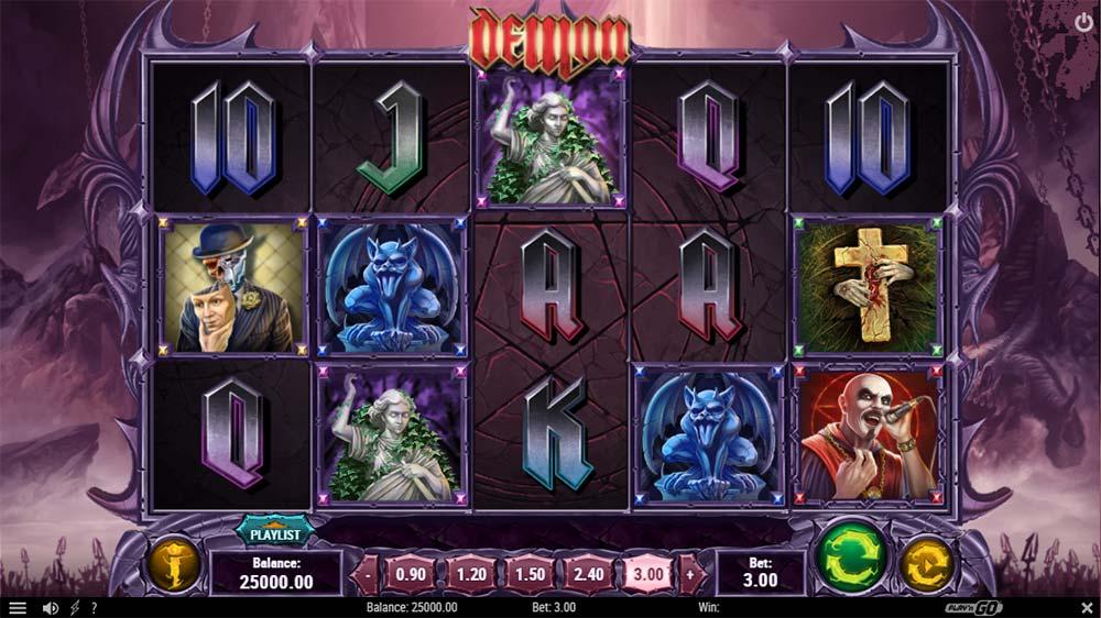 Demon Slot - Base Game