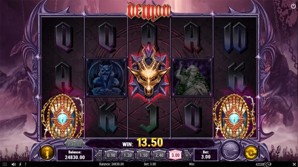 Demon Slot - Bonus Trigger