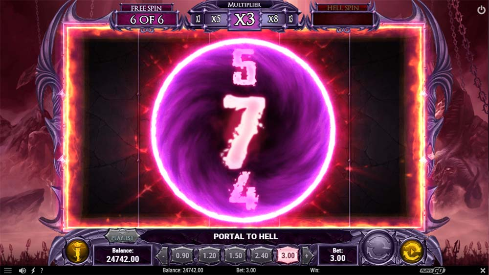 Demon Slot - Portal to Hell Free Spins