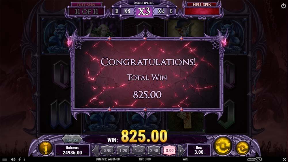 Demon Slot - Bonus End
