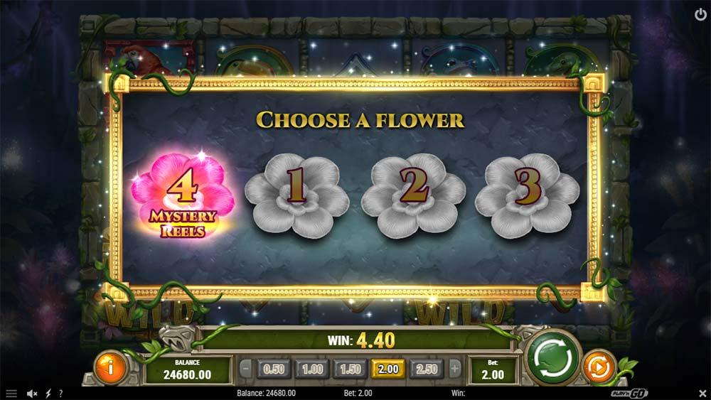 Rainforest Magic Slot - Bonus Picking Screen