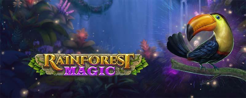 Rainforest Magic Slot Logo