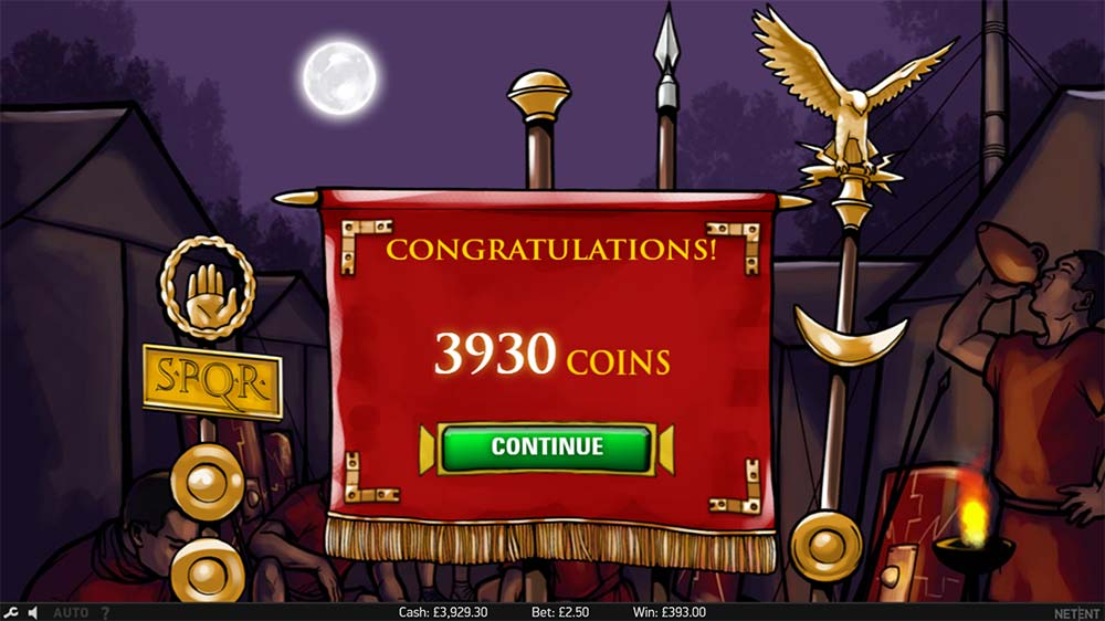 Victorious Max Slot - Bonus End