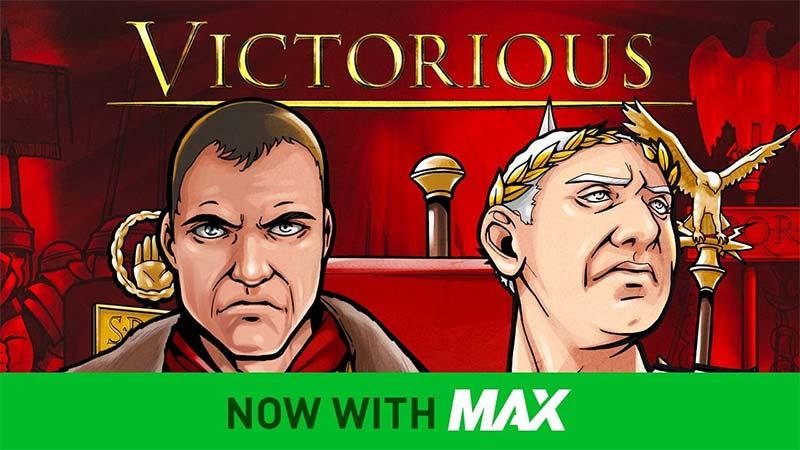 Victorious Max Slot Logo
