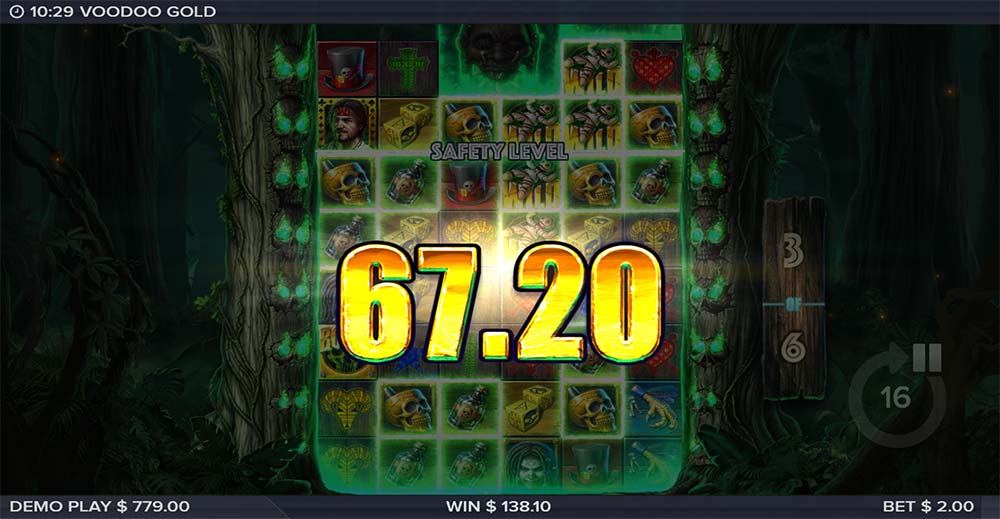 Voodoo Gold Slot - Free Spins