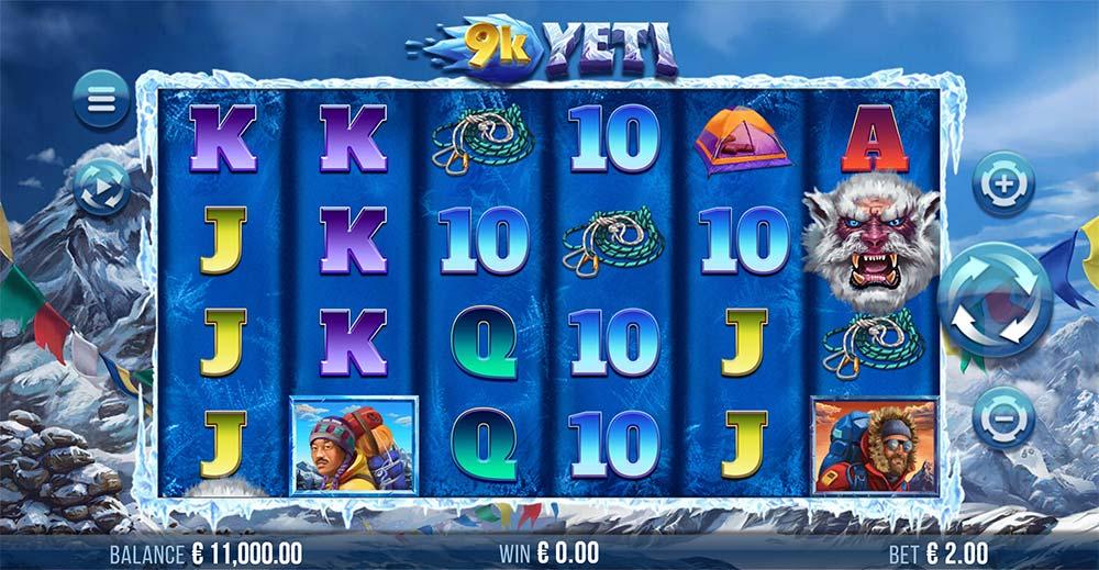 9K Yeti Slot - Base Game