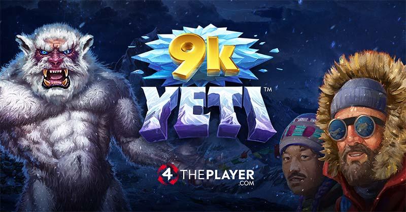 9K Yeti Slot Logo
