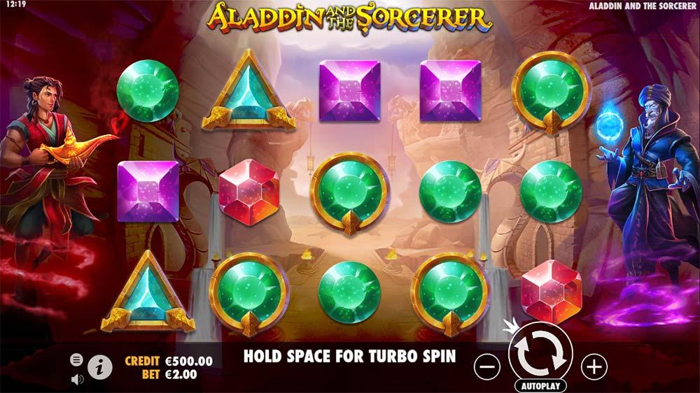 Aladdin and the Sorcerer Slot - Base Game