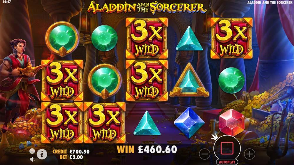 Aladdin and the Sorcerer Slot - Stage 2 Bonus