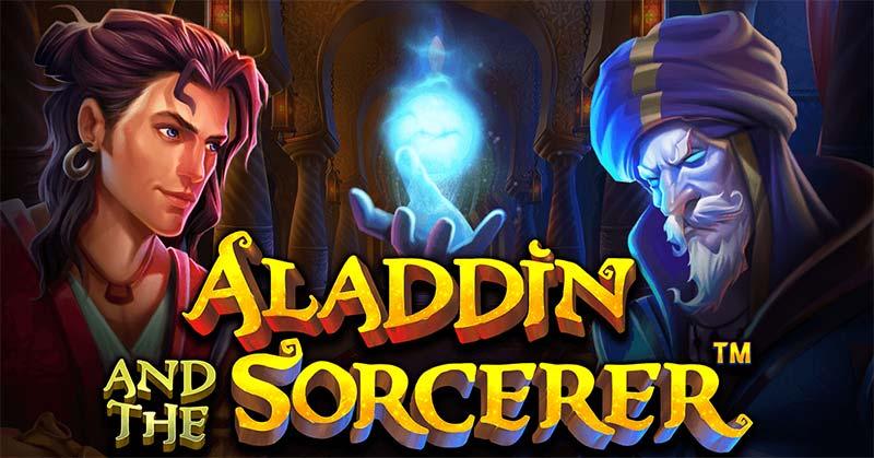 Aladdin and the Sorcerer Slot Logo