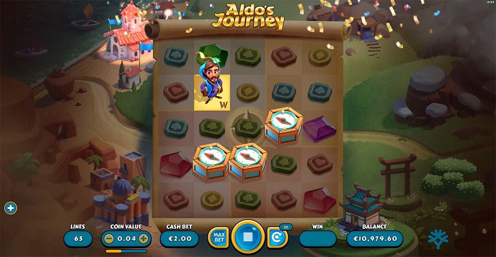 Aldo's Journey Slot - Bonus Trigger