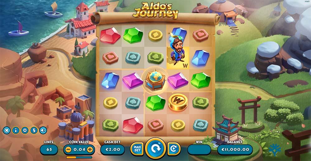 Aldo's Journey Slot - Base Game