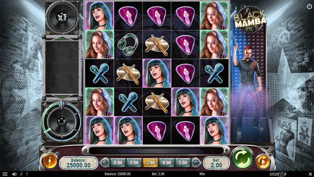 Black Mamba Slot - Base Game