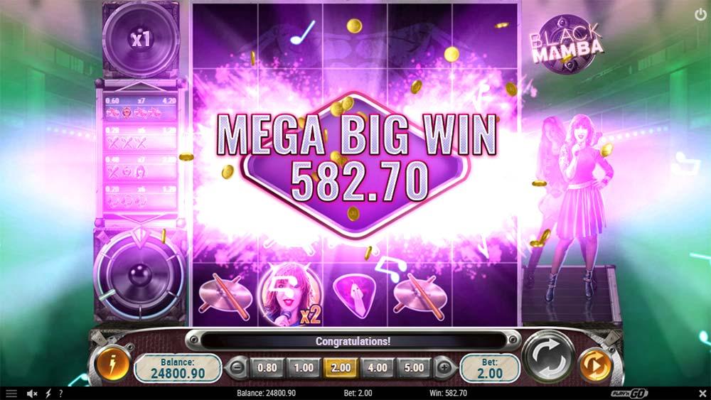 Black Mamba Slot - Mega Big Win