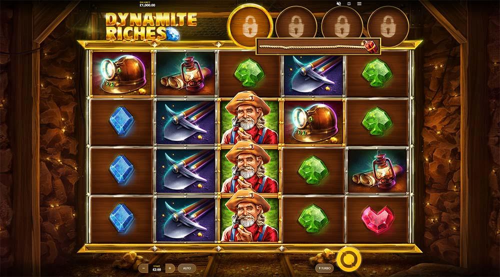 Dynamite Riches Slot - Base Game