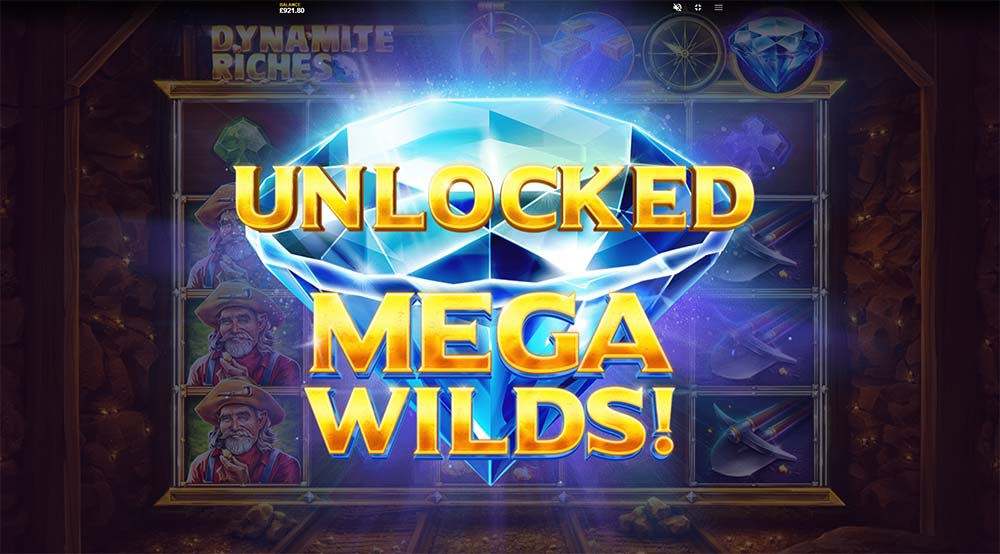 Dynamite Riches Slot - Unlocked Features