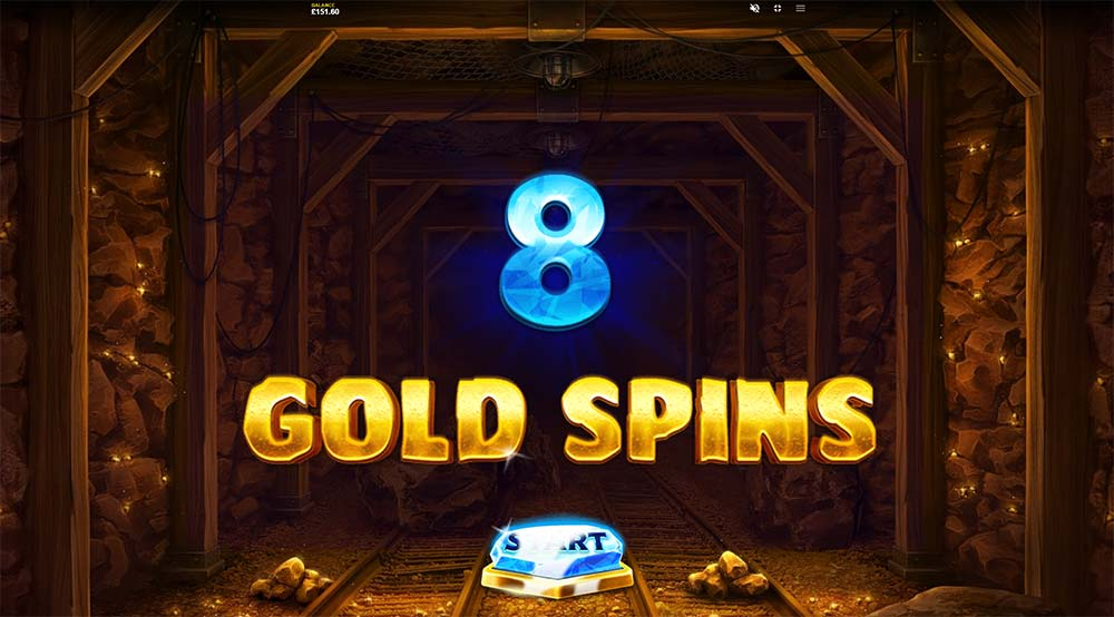 Dynamite Riches Slot - Free Spins Start