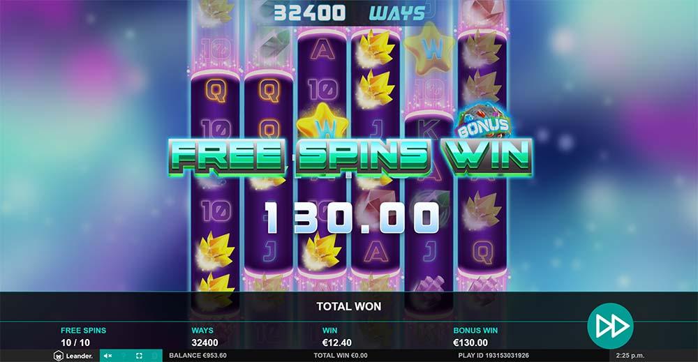 Gem Zone Slot - Bonus End