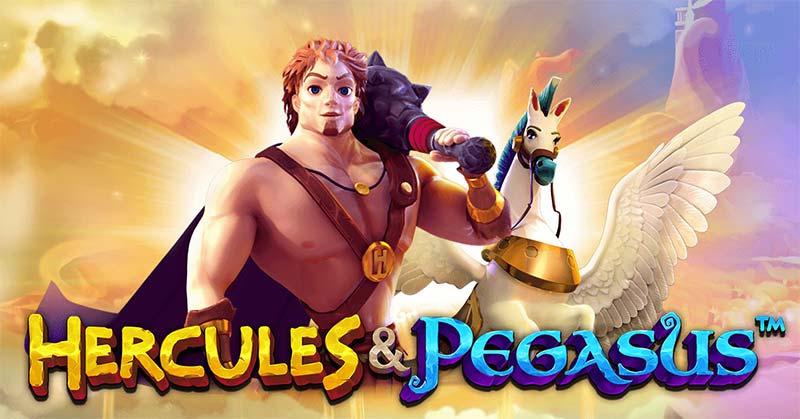 Hercules and Pegasus Slot Logo