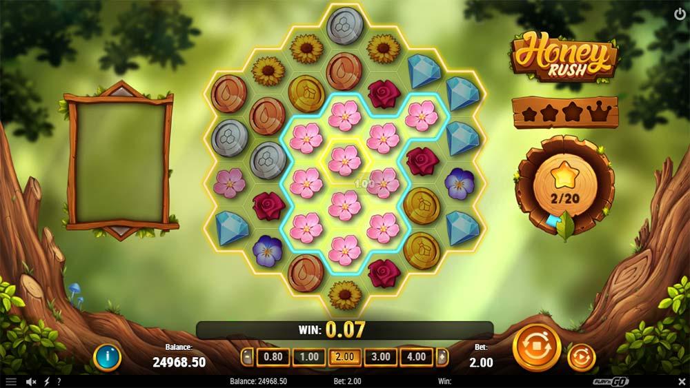 Honey Rush Slot - Cluster Pays