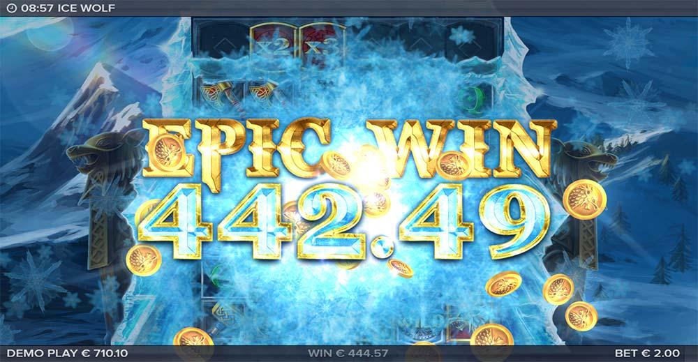 Ice Wolf Slot - Epic Win