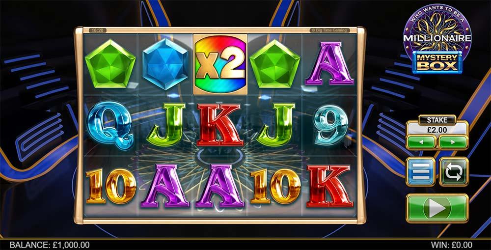 Millionaire Mystery Box Slot - Base Game