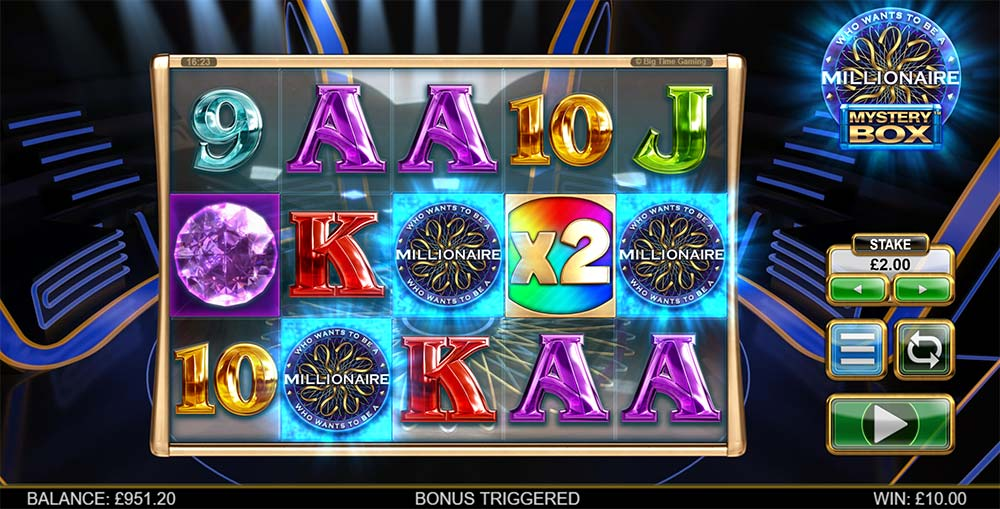 Millionaire Mystery Box Slot - Bonus Trigger