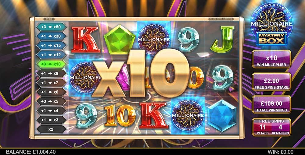 Millionaire Mystery Box Slot - 10x Multiplier