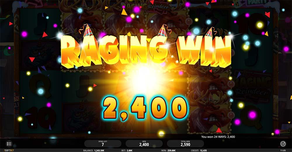 Raging Reindeer Slot - Raging Win