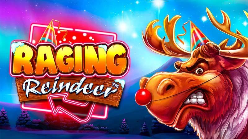 Raging Reindeer Slot Logo