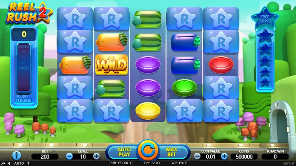 Reel Rush 2 Slot - Base Game