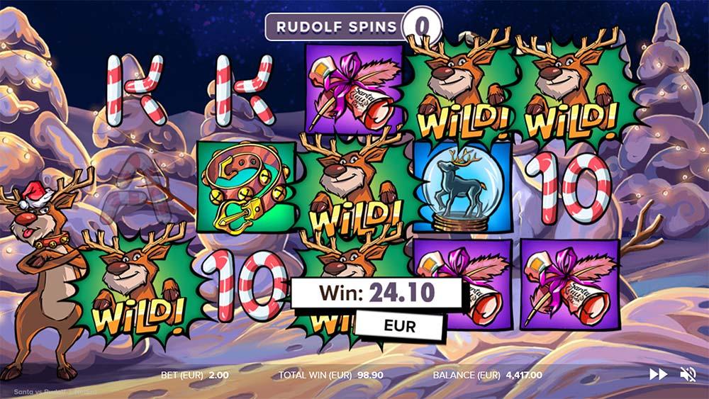 Santa vs Rudolf Slot - Rudolph Spins