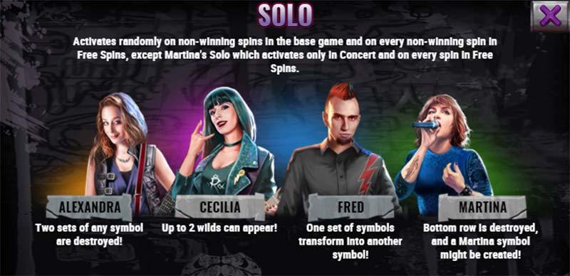 Black Mamba Slot - Solo Features