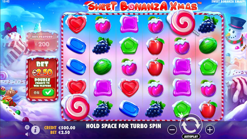 Sweet Bonanza Xmas Slot - Base Game