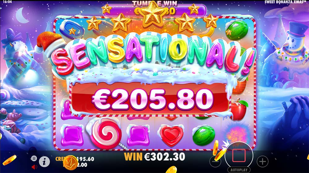 Sweet Bonanza Xmas Slot - Sensational Win