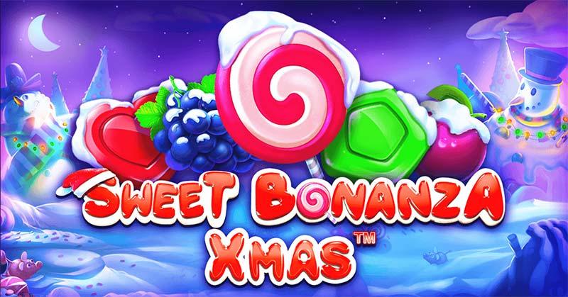 Sweet Bonanza Xmas Slot Logo