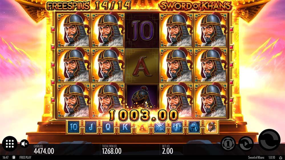Sword of Khans Slot - Big Win