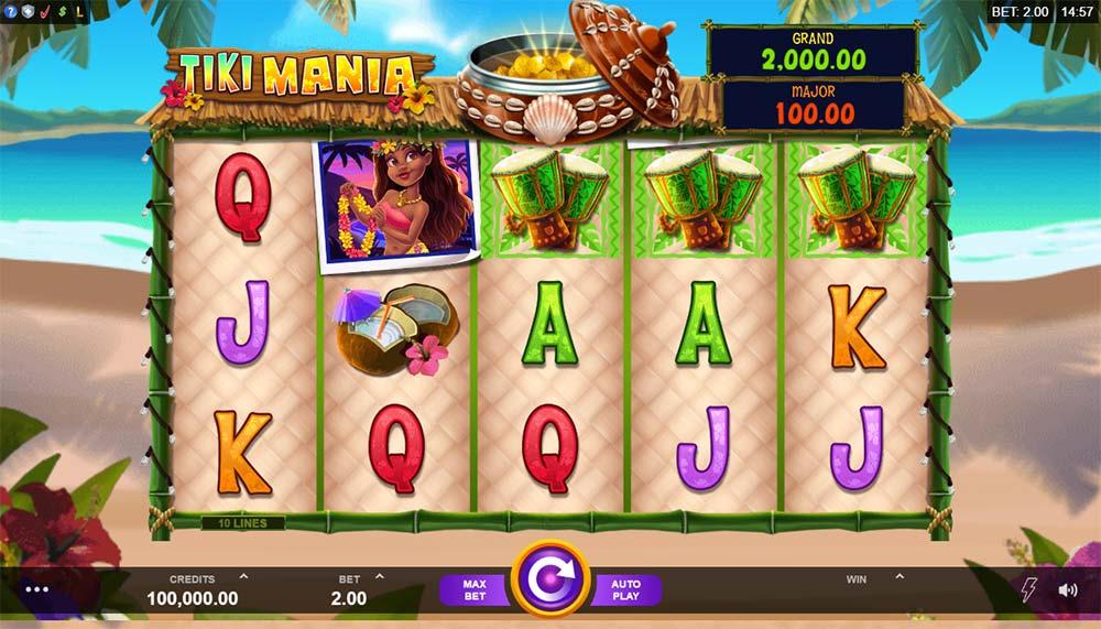 Tiki Mania Slot - Base Game