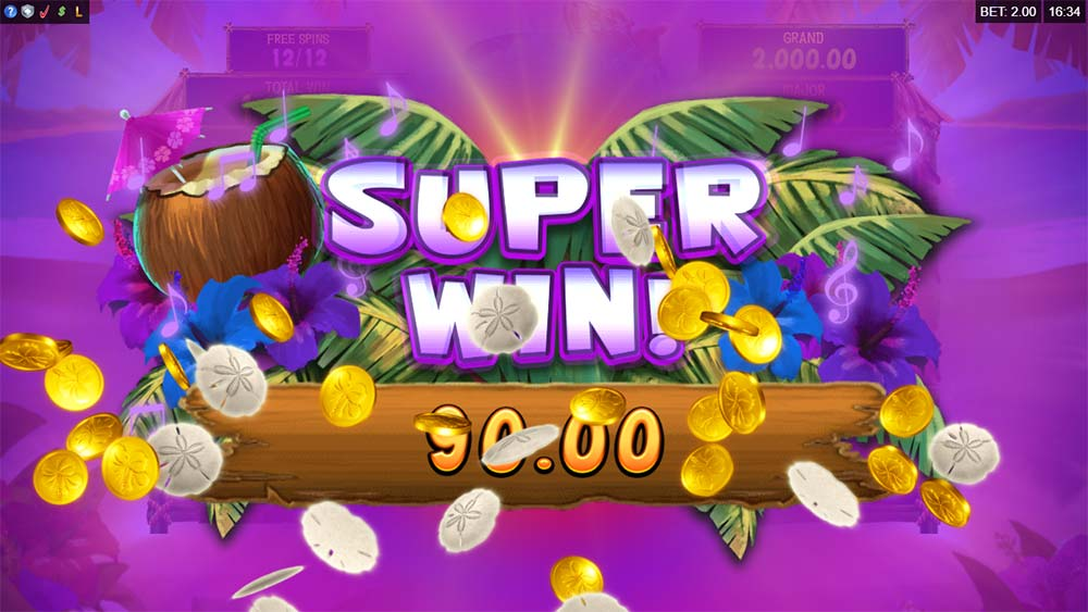 Tiki Mania Slot - Super Win