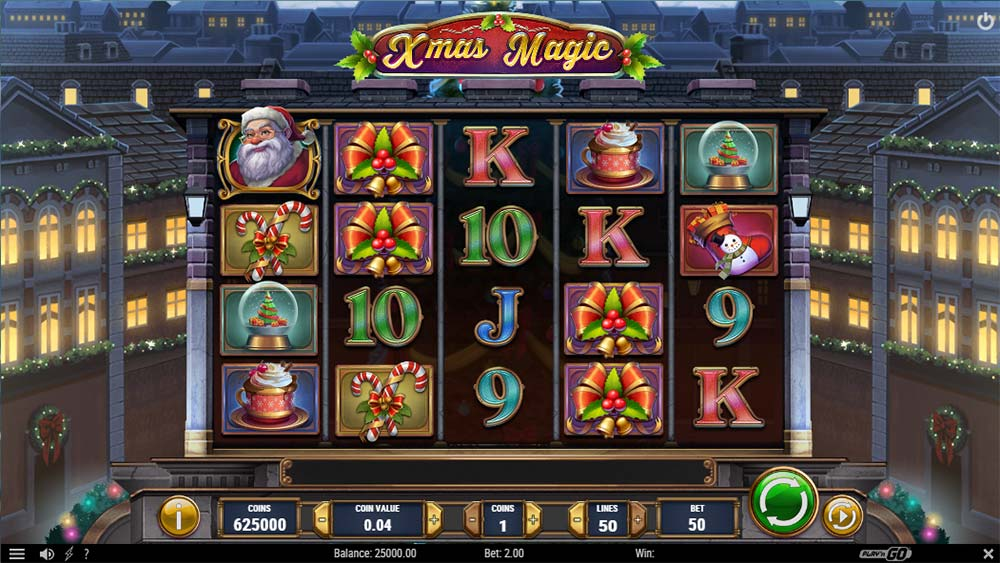 Xmas Magic Slot - Base Game