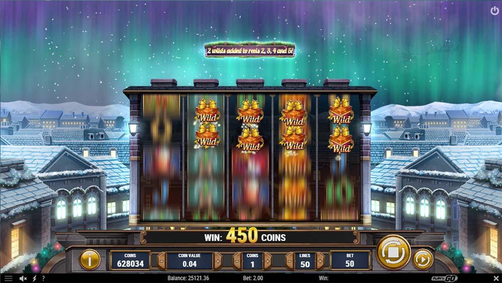 Xmas Magic Slot - Added Wilds