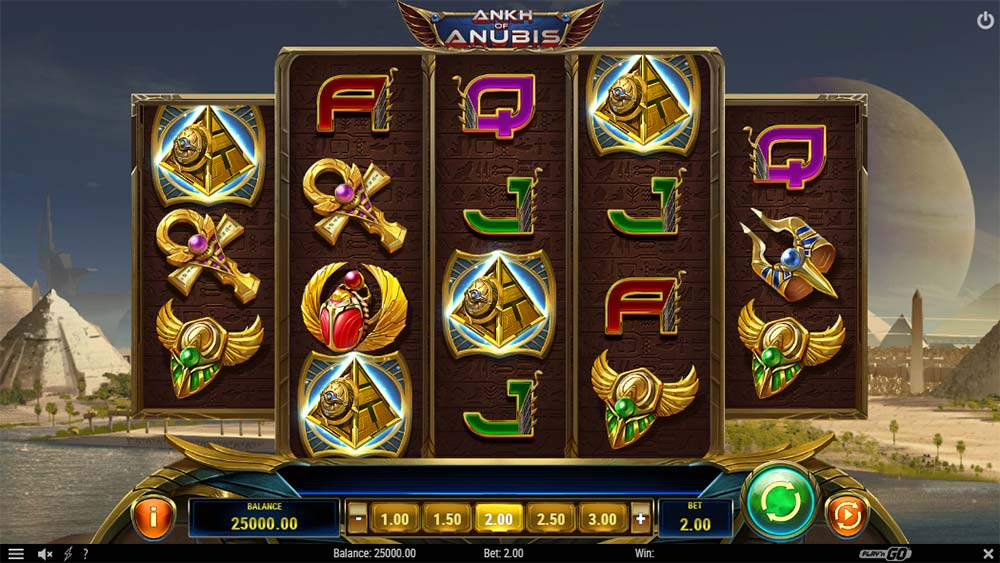 Ankh of Anubis Slot - Base Game