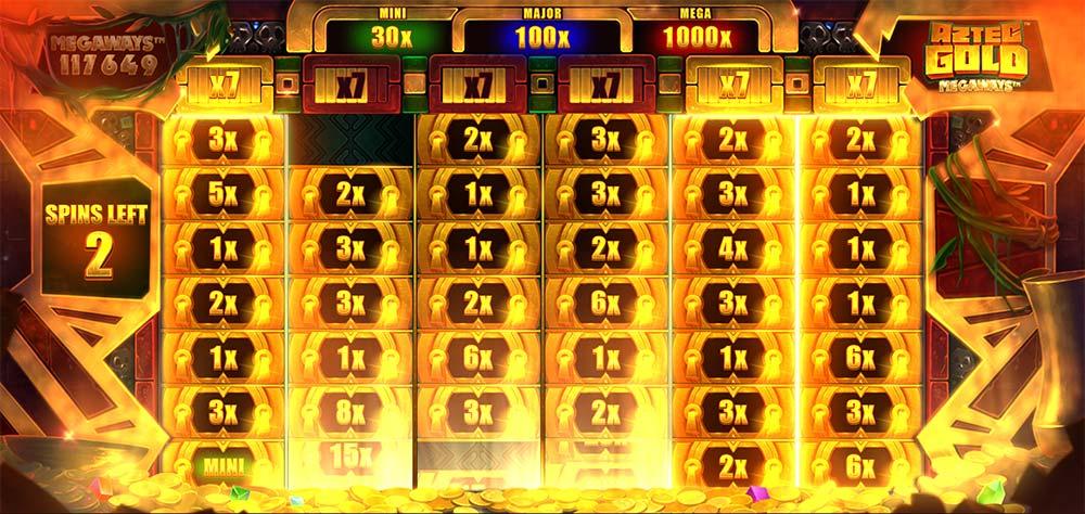Aztec Gold Megaways Slot - Max Megaways