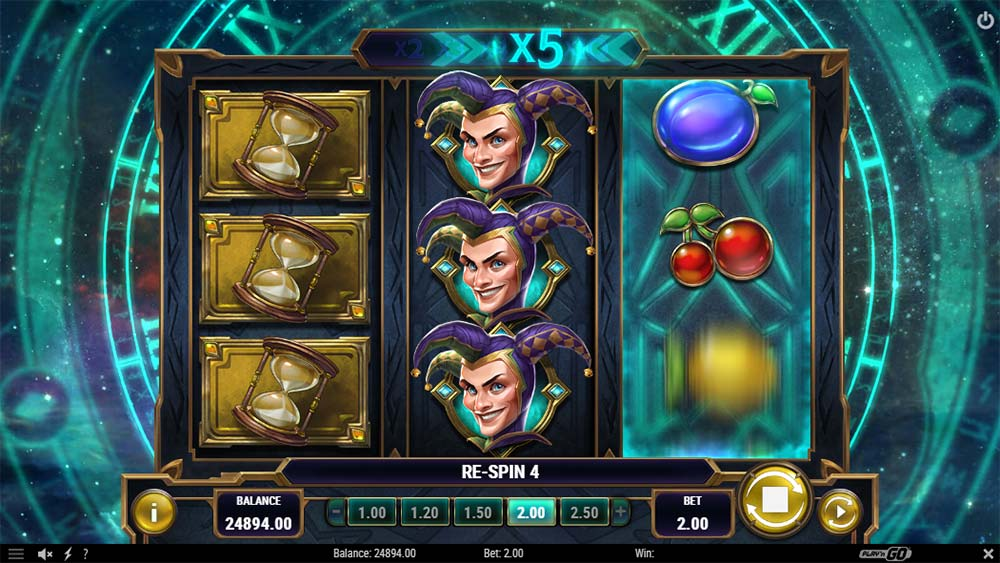 Chronos Joker Slot - Re-Spins Feature