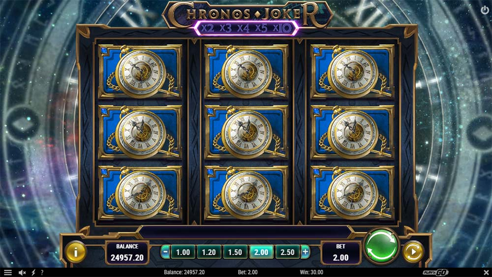 Chronos Joker Slot - Full Screen Win