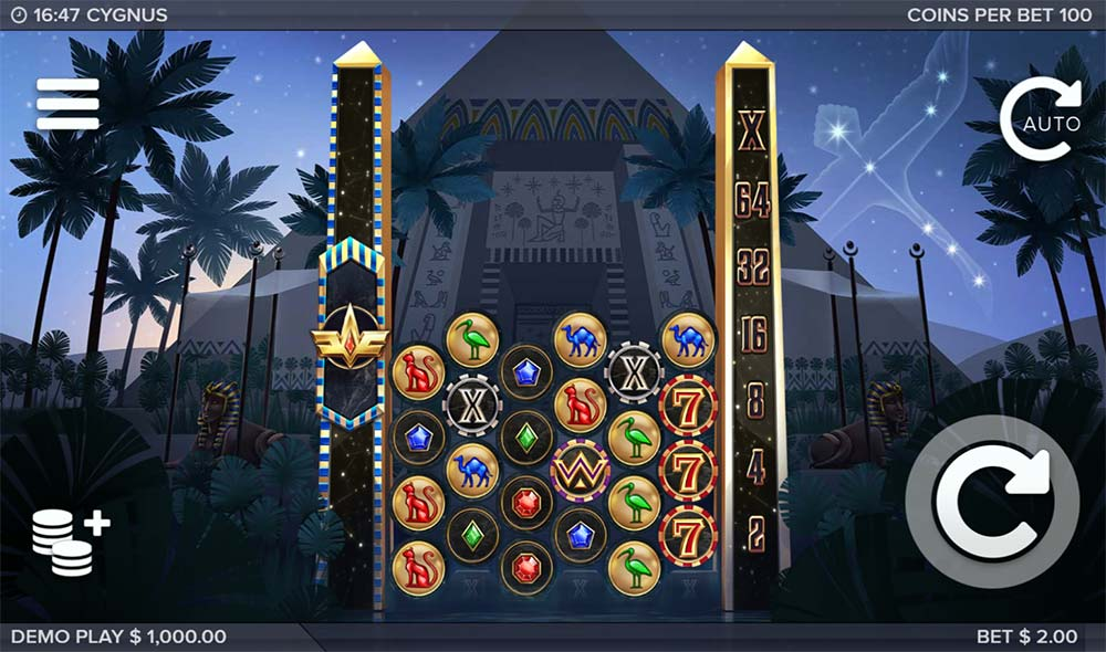 Cygnus Slot - Base Game